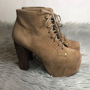 ✨JEFFERY CAMPBELL LITA BOOT TAN✨
